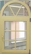 Окно с фальшпереплетом